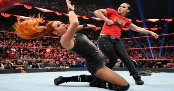 Becky Lynch and Shayna Baszler match should do well