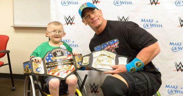 John Cena supports make a wish foundation