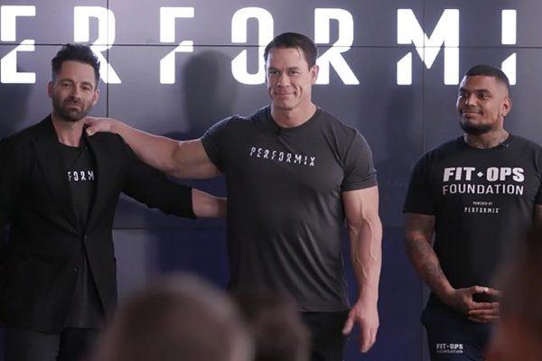 John Cena supports army veteran