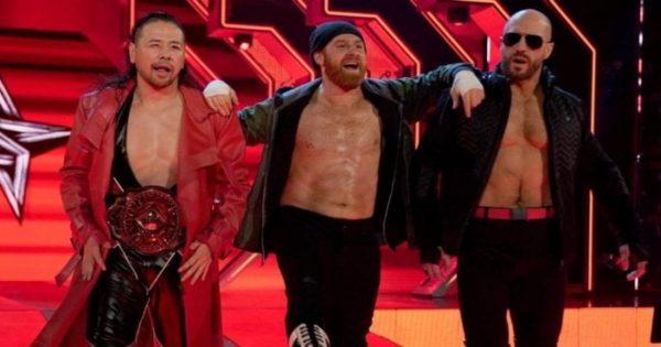 Shinsuke Nakamura, Sami Zayn and Cesaro in WWE