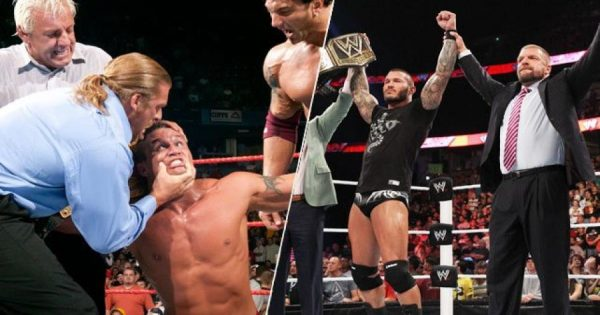 How Triple H set Randy Orton Straight During His Evolution Days
