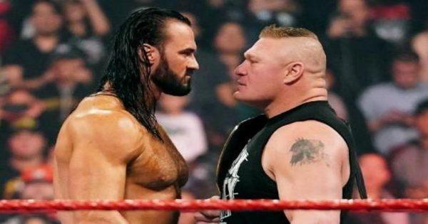 Drew McIntyre Is Facing Brock Lesnar