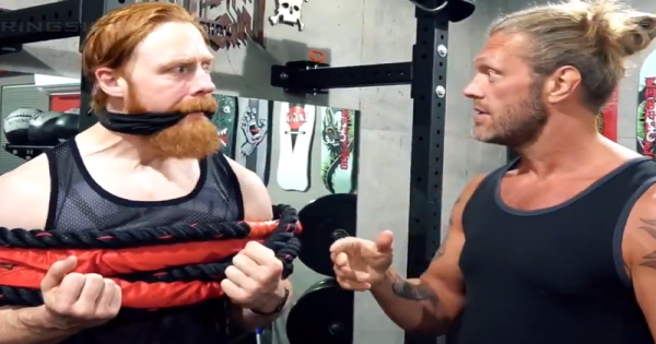 Sheamus played a big role in Edge's return