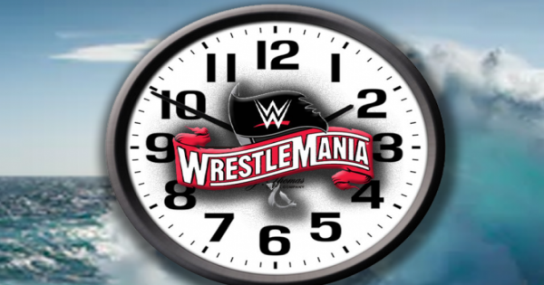 Wrestlemania 36 start time and length