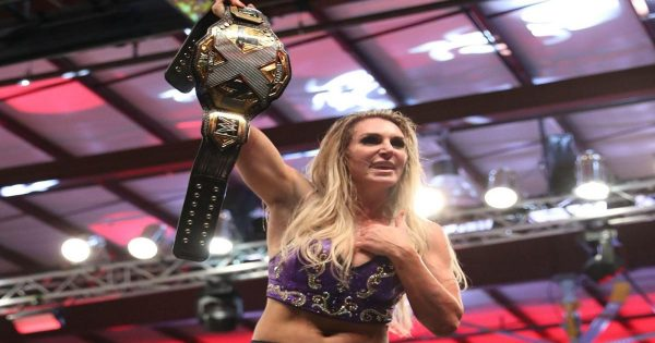 Is Charlotte Flair going to defend her NXT title across all brands?