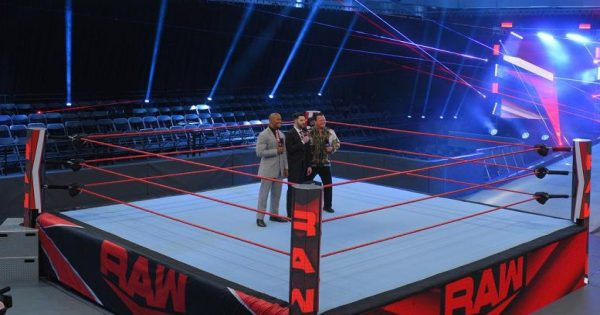 Raw looks empty without an audience, when will the restrictions be lifted?