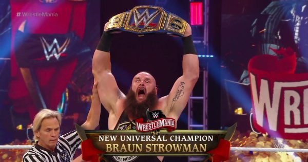 The reason why Braun Strowman got the WWE Universal Championship