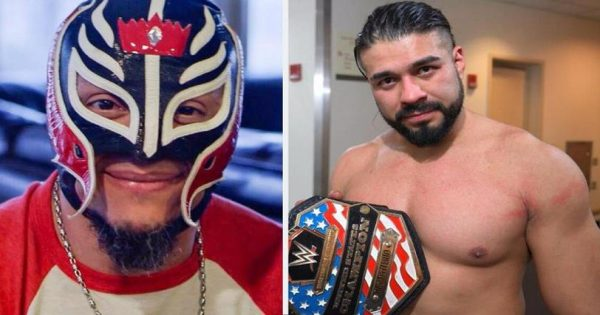 Andrade And Rey Mysterio