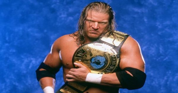 Triple H history in the WCW - WWF war