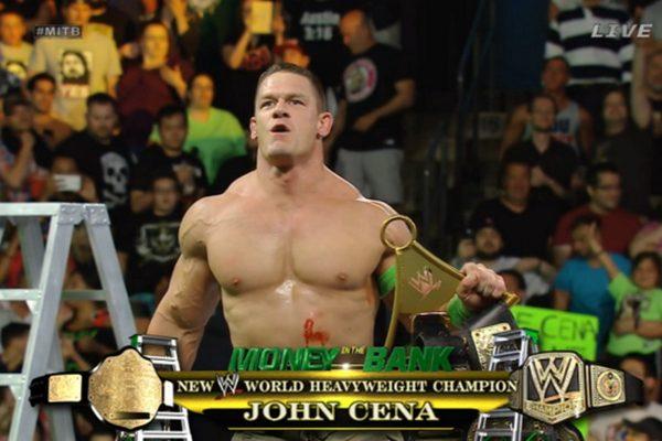 John Cena wins Money In The Bank 2014