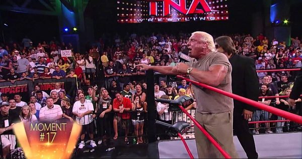 Ric Flair in TNA after WWE retirement