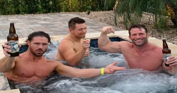 The Miz and Zack Ryder are good friends