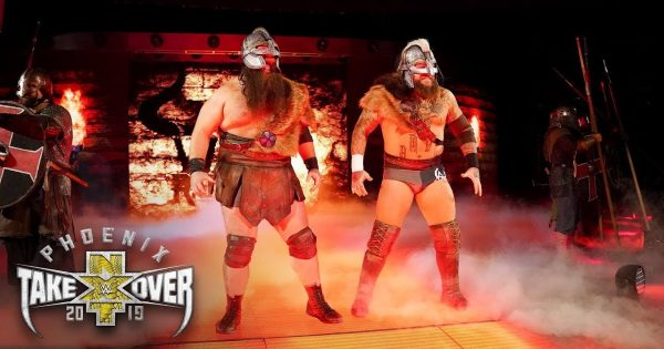 The Viking Raiders were an amazing tag team in NXT