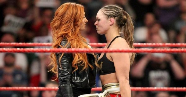Ronda Rousey and Becky Lynch feud could revitalise the women's division