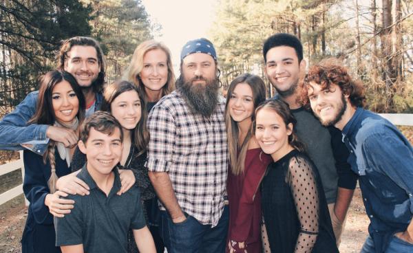 Willie Robertson family