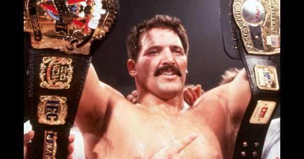 "Dan Severn obtained ""The Beast"" nickname first"