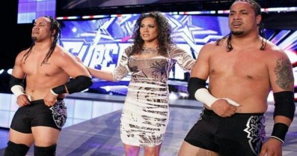 Tamina Snuka and The Usos debut