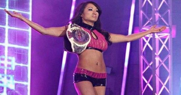 Gail Kim never reached the top in the WWE