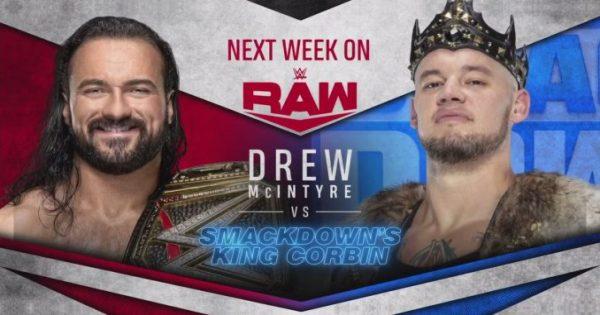 Drew McIntyre will face Baron Corbin