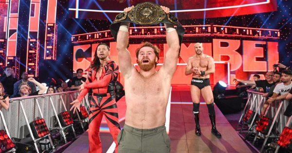 Sami Zayn might relinquish the title