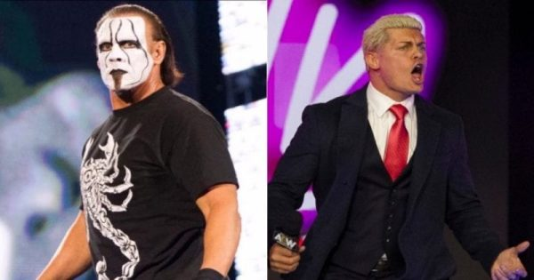 What is sting's connection to AEW