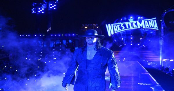 The Undertaker was in a considerable amount of pain at WrestleMania 33