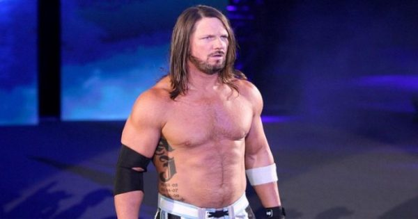 AJ Styles knew what to do about the boneyard match