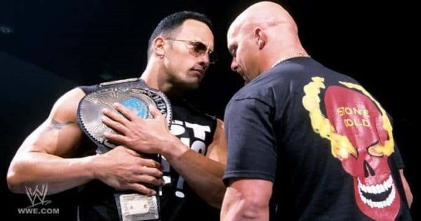 The Rock versus Stone Cold was one of the most brutal matches of 2001
