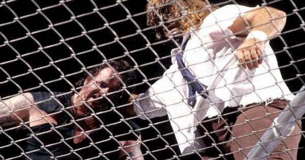 The Undertaker Versus Mankind in Hell in a Cell defined the WWE's brutal days