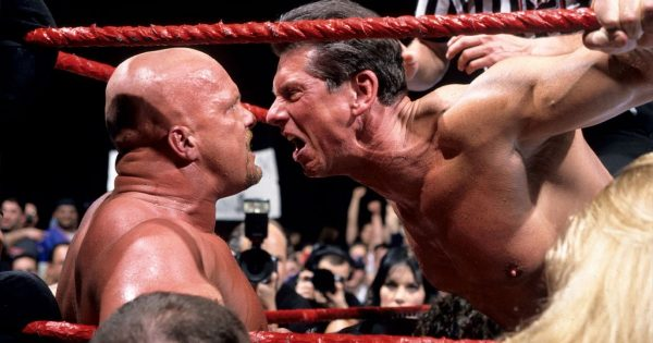 Epic grudge match between Vince and Stone Cold
