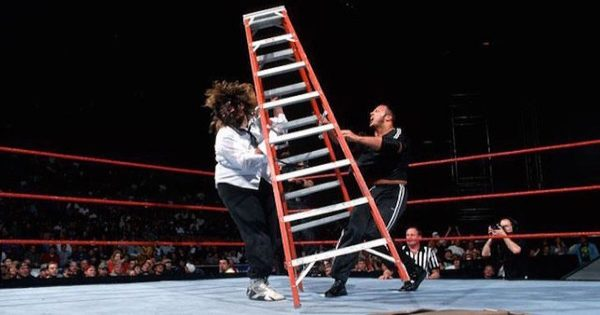 The Rock and Mankind had a brilliant match during Monday Night Raw