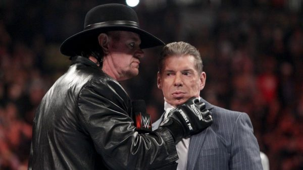 Undertaker Vince McMahon Cry