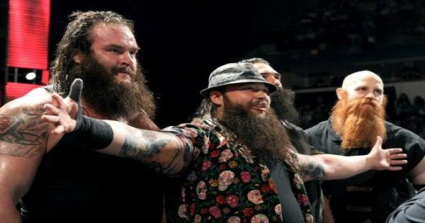 Braun Strowman debuted as a member of the Wyatt Family