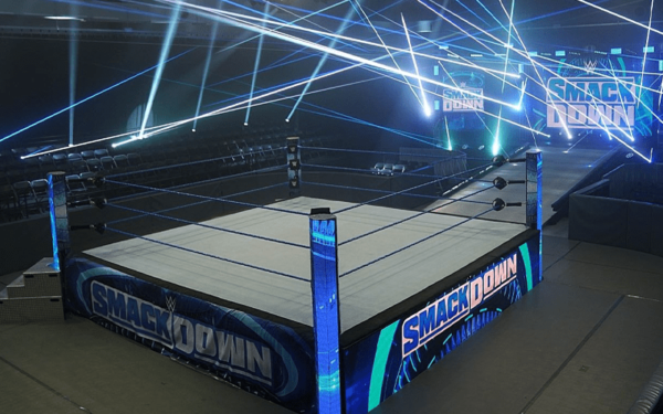 WWE is tackling the empty performance center