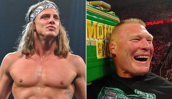 Will we see a feud between Matt Riddle and Brock Lesnar?