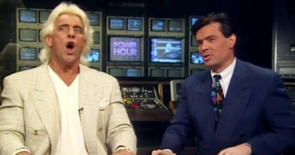 Ric Flair and Eric Bischoff can't stand each other