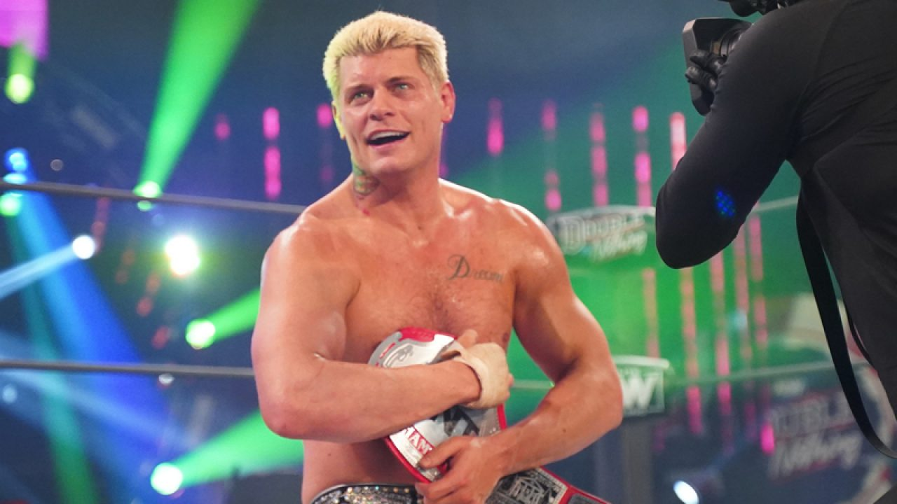 CODY RHODES OFF AEW