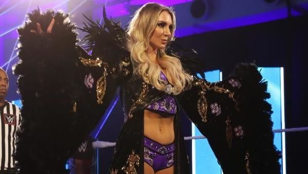 Charlotte flair claims she's the hardest worker