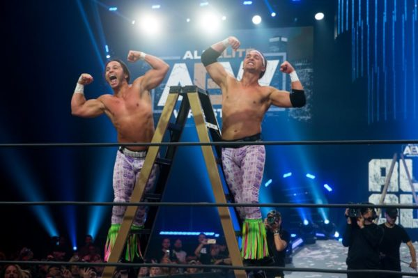 The Young Bucks Claim Their Territory