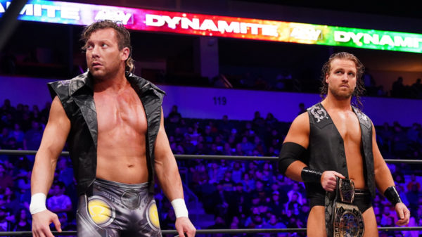 Kenny Omega and Hangman Adam Page