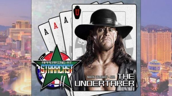 The Undertaker was supposed to appear at Starcast II