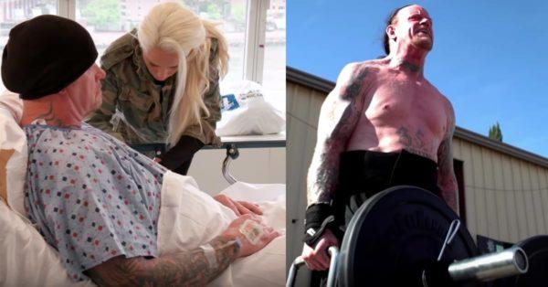 The Undertaker's surgeries were brutal