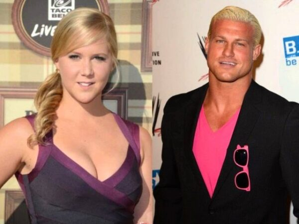 Amy Schumer and Dolph Ziggler