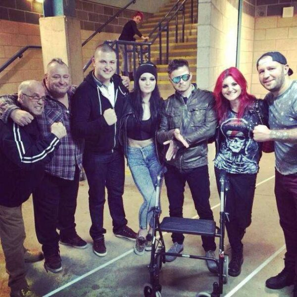 Paige's family accused during #SpeakingOut