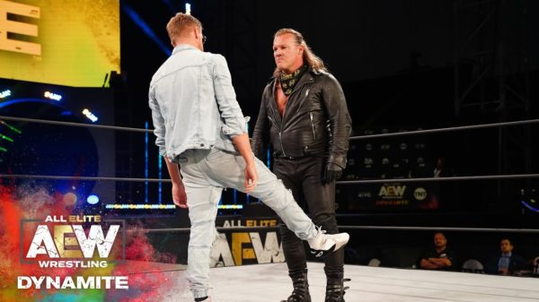 Chris Jericho and Orange Cassidy are currently feuding