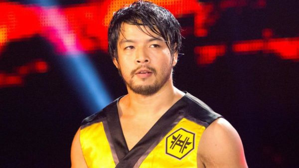 Hidea Itami was released by WWE after numerous injuries