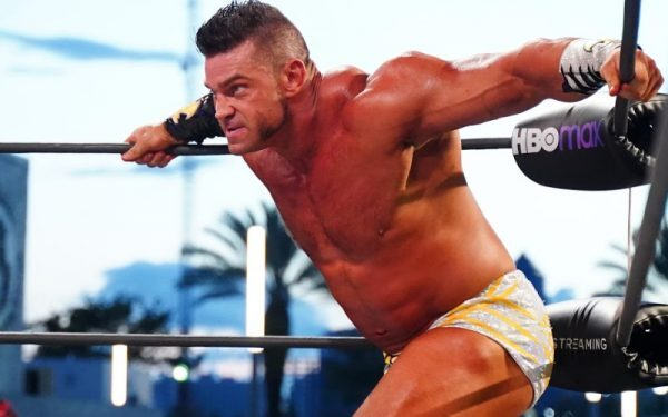 Brian Cage is having an amazing time at AEW