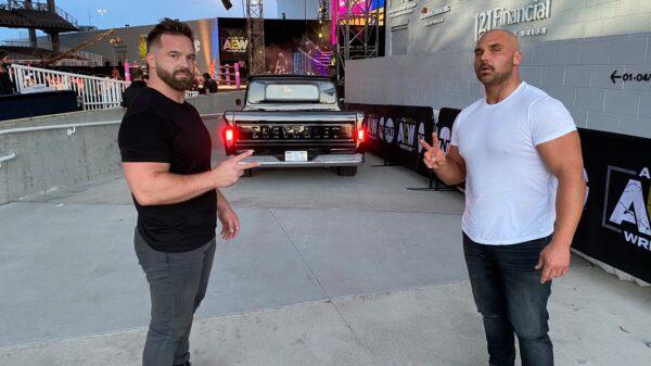 Dax Harwood and Cash Wheeler in AEW