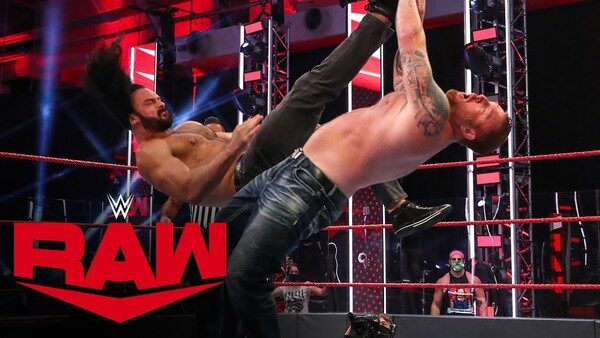 Raw removed ring announcers due to coronavirus crisis