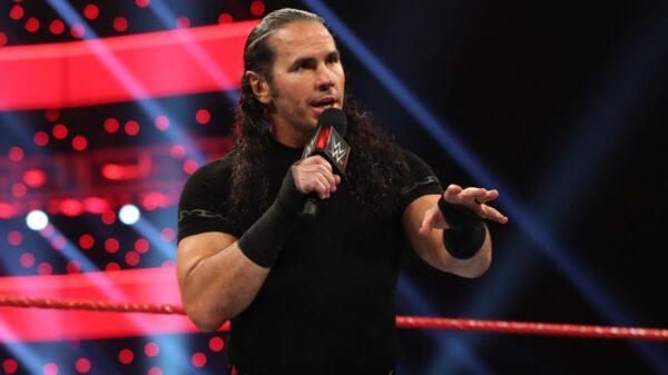 Matt Hardy left WWE in march